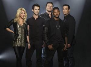 The Voice's current judges www.wetpaint.com