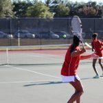 Girls Varsity Tennis Defeats Smithtown East