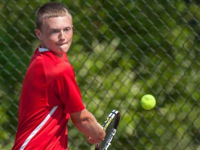 Hills West Boys Tennis Wins County Championship