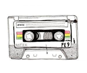 cassette newspaper