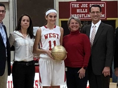 Sam Hinke Crosses 1,000 Point Milestone